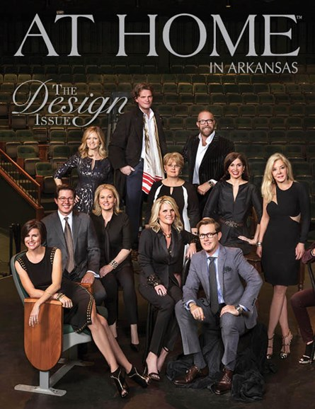 At Home In Arkansas Cover - 1/1/2015
