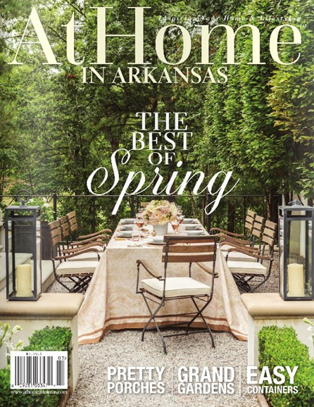 At Home In Arkansas Cover - 3/1/2015