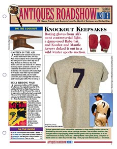 Antiques Roadshow Insider | 4/2015 Cover