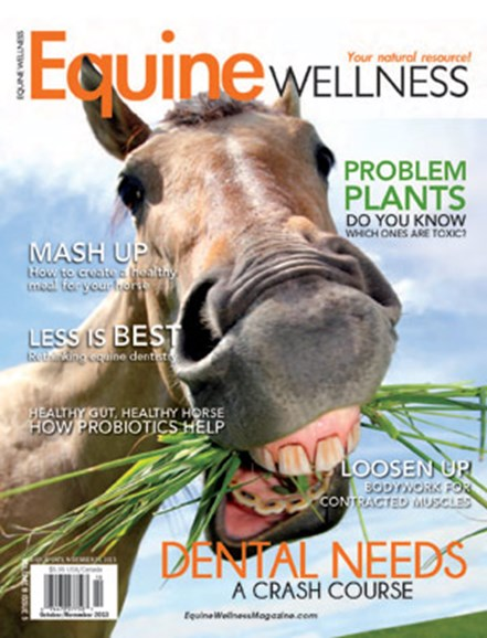 Equine Wellness Cover - 10/1/2013