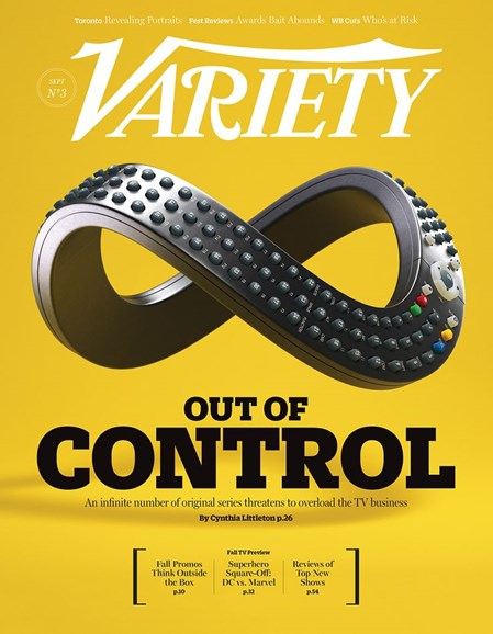 Variety Cover - 9/16/2014