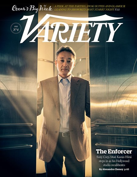 Variety Cover - 2/28/2014
