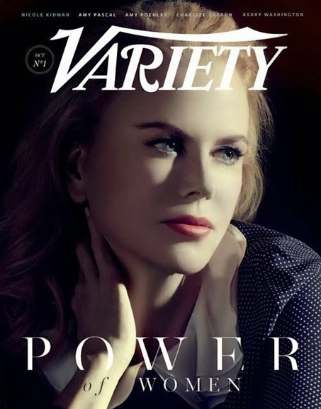 Variety Cover - 10/1/2013