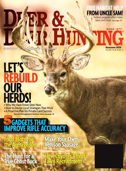 Deer & Deer Hunting Cover - 6/1/2015