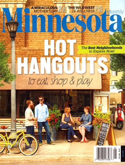 Minnesota Monthly Cover - 5/1/2015