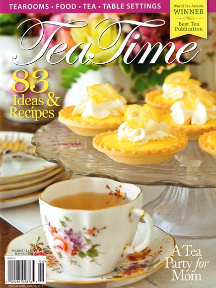 Tea Time Cover - 5/1/2015