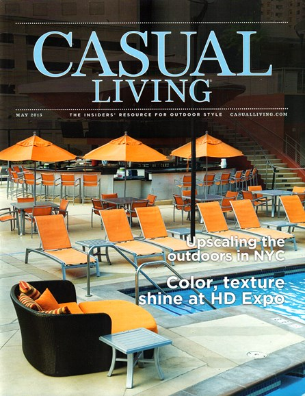 Casual Living Cover - 5/1/2015
