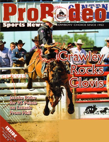 Pro Rodeo Sports News Cover - 5/8/2015
