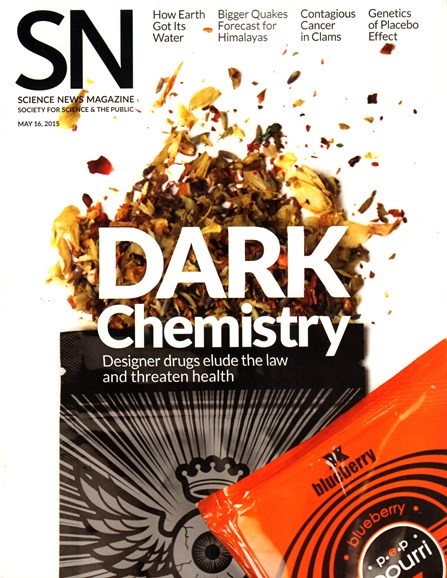 Science News Cover - 5/16/2015