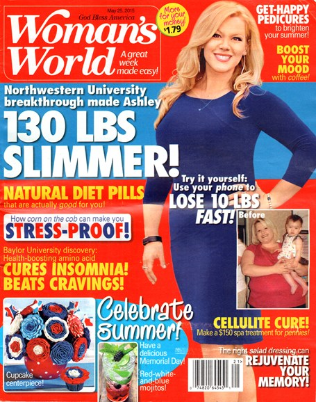 Woman's World Cover - 5/25/2015
