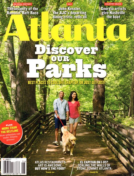 Atlanta Magazine Cover - 6/1/2015