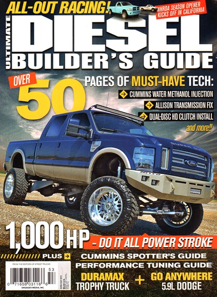 Ultimate Diesel Builder's Guide Cover - 6/1/2015