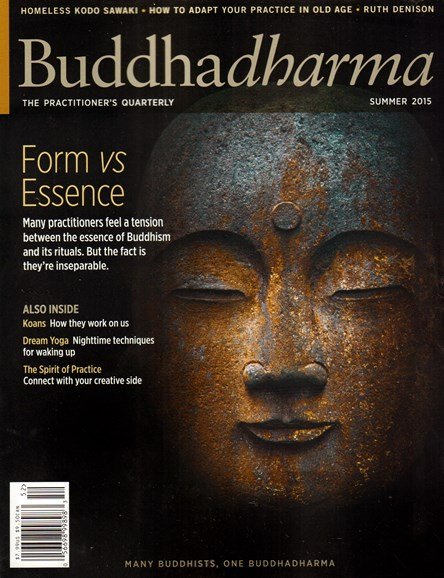 BUDDHADHARMA: THE PRACTIONER'S QUARTERLY Cover - 6/1/2015