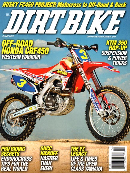 Dirt Bike Cover - 6/1/2015