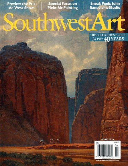 Southwest Art Cover - 6/1/2015