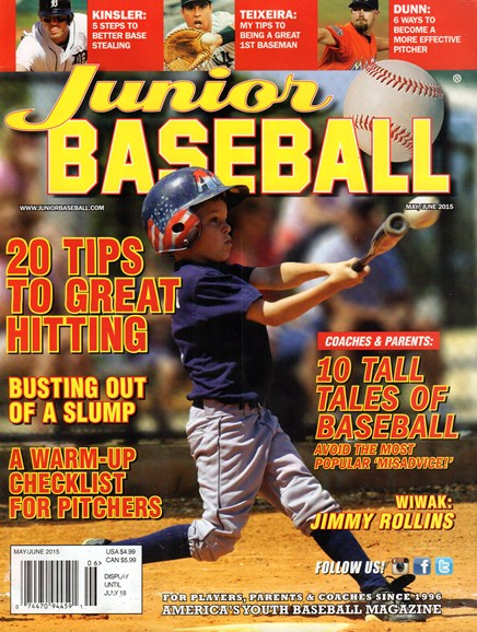 Junior Baseball Cover - 5/1/2015