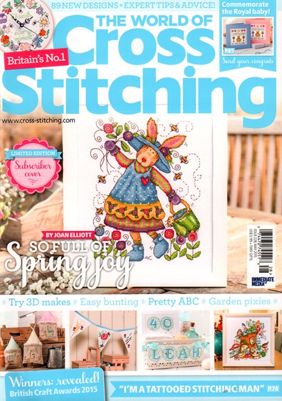 The World of Cross Stitching Cover - 5/1/2015