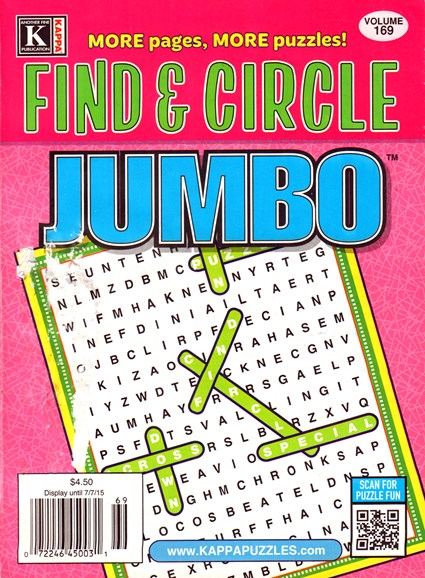 Find & Circle Jumbo Cover - 7/1/2015
