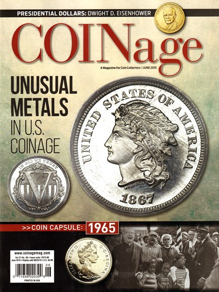 Coinage Cover - 6/1/2015