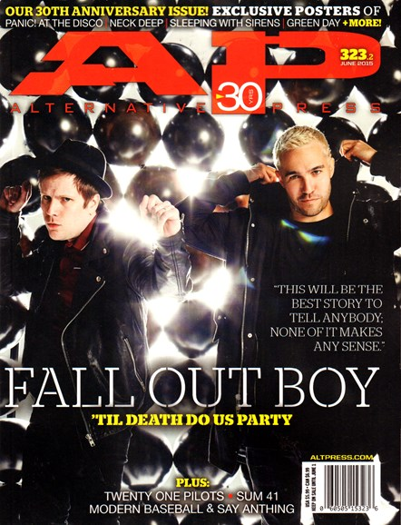 Alternative Press Cover - 6/1/2015
