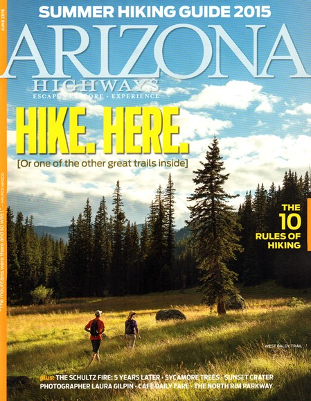 Arizona Highways Cover - 6/1/2015