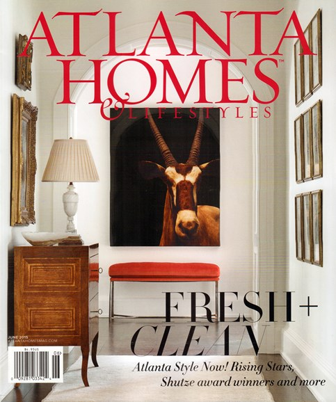 Atlanta Homes & Lifestyles Cover - 6/1/2015