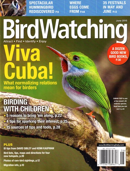 Bird Watching Cover - 6/1/2015