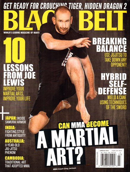 Black Belt Magazine Cover - 6/1/2015