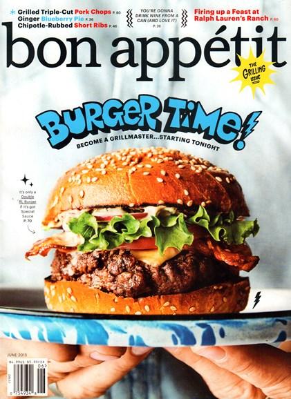 Bon Appétit Cover - 6/1/2015