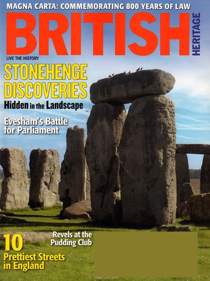British Heritage Travel Cover - 6/1/2015