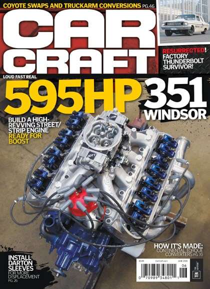 Car Craft Cover - 6/1/2015