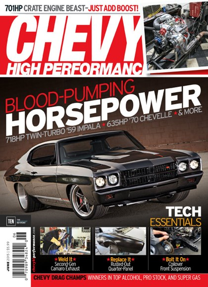 Chevy High Performance Cover - 6/1/2015