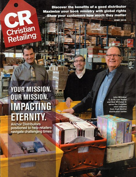 Christian Retailing Cover - 6/1/2015
