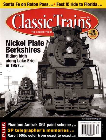 Classic Trains Cover - 6/1/2015