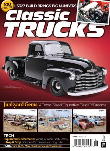 Classic Trucks Cover - 6/1/2015