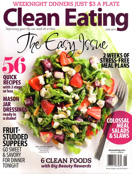 Clean Eating Cover - 6/1/2015