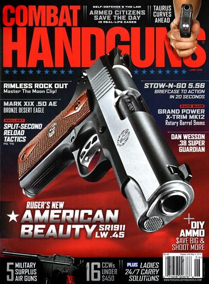 Combat Handguns Cover - 6/1/2015