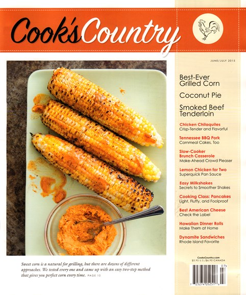 Cook's Country Cover - 6/1/2015