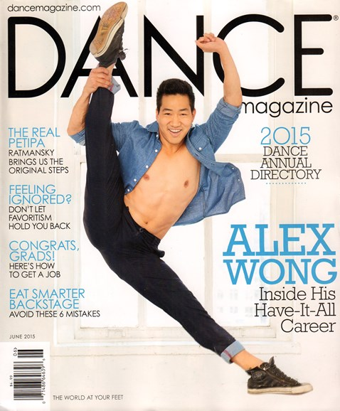 Dance Magazine Cover - 6/1/2015