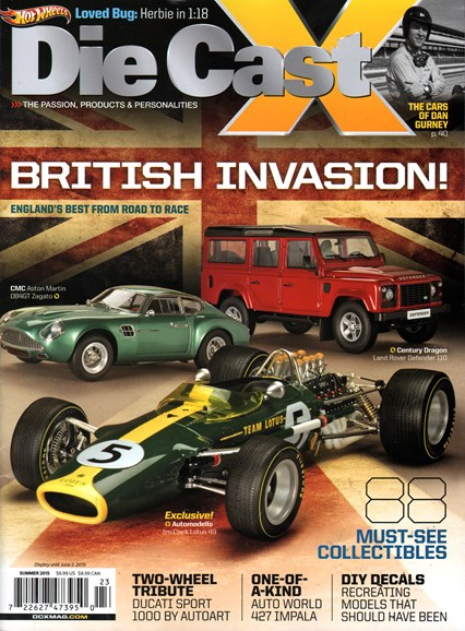 Diecast X Cover - 6/1/2015
