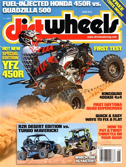 Dirt Wheels Cover - 6/1/2015