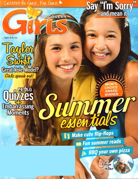 Discovery Girls Cover - 6/1/2015