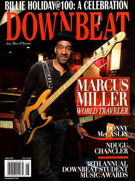 DownBeat Cover - 6/1/2015