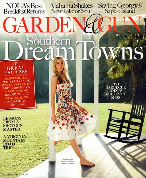 Garden & Gun Cover - 6/1/2015