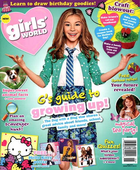Girls' World Cover - 6/1/2015