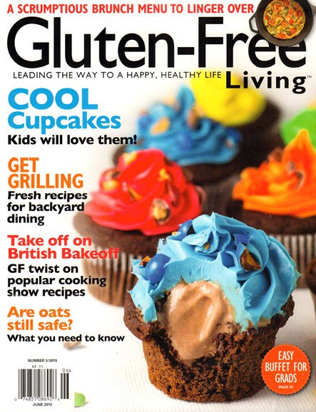 Gluten-Free Living Cover - 6/1/2015