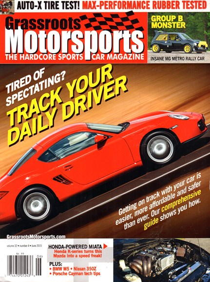 Grassroots Motorsports Cover - 6/1/2015