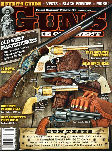 Guns Of The Old West Cover - 6/1/2015
