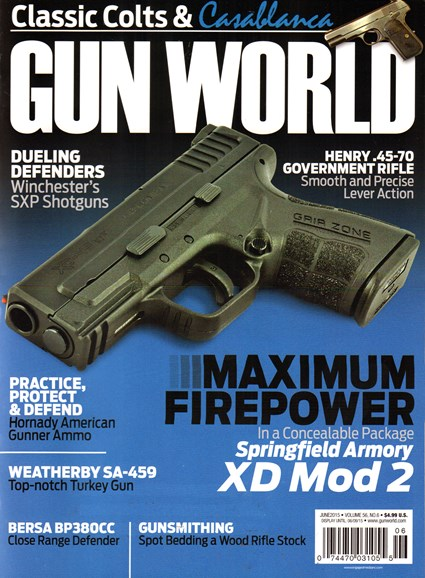 Gun World Cover - 6/1/2015