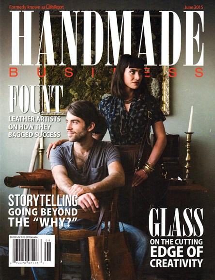 Handmade Business Cover - 6/1/2015